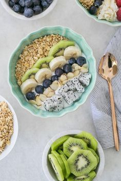 At Home Spa Day with Greek Yogurt Bowls!
