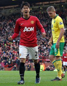 Shinji Kagawa / Manchester United scored a hat trick!!!!