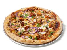 Almost-Famous Barbecue Chicken Pizza Recipe : Food Network Kitchen : Food Network - FoodNetwork.com