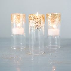 Add glam to your tablescapes in 3 easy steps with our brand new DIY tutorial! {Weddingstar) ____________________________________________ This actually looks really cool!