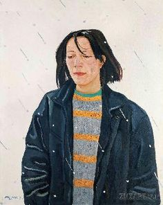 liu xiaodong artist | 风雨交加-Liu Xiaodong-Oil paintingart picture gallery