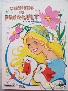 CUENTOS DE PERRAULT MARIA PASCUAL AÑO 1985 (Libros de Lance - Literatura Infantil y Juvenil - Cuentos)