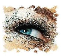 Smitten Kitten loves makeup especially shimmery eyeshadow.