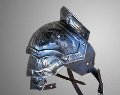 LARP Armor Leather Pauldron Valknut: Odin's by IronWoodsShop