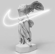The goddess Nike