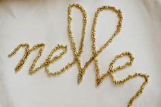 Iby Lippold Haushaltstipps : Stanznadel stickerei - Punch needle embroidery