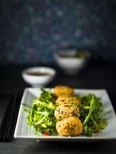 Beignets, Vegan Vegetarian, Vegetarian Recipes, Tempura, Seaweed Salad, Vegetable Recipes, Clean Eating, Lunch, Chicken