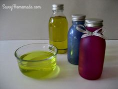 Homemade Bath Oil Recipes