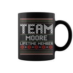 Team Moore Lifetime Member Ugly Christmas Sweater mug