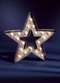 LED Stern für innen 36x37x5 cm (H/B/T)