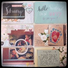 Scrapbooking, Bible Journaling, and a few stitches here or there....