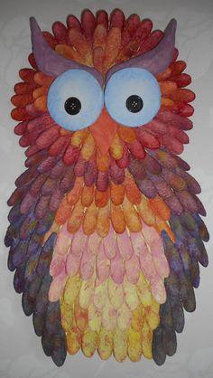 Made By Sini: Vähän pöllömpi seinäkoriste