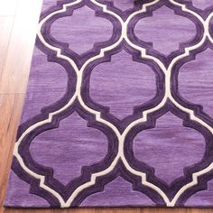 amazonsmile pino classic lattice trellis plum area rug purple ivory moroccan style hand made carved