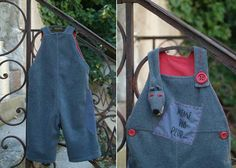 Dungarees wolf