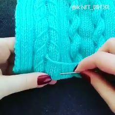 Crochet lesson series - Crochet and Knitting Knitting Stiches, Easy Knitting Patterns, Crochet Stitches Patterns, Loom Knitting, Knitting Designs, Knitting And Crocheting, Knitting Videos, Crochet Diy, Crochet Crafts