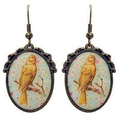 Bird on Branch Earrings – ASK ALICE by All Gifts Online Bird On Branch, All Gifts, Online Gifts, Pocket Watch, Alice, Birds, Illustration, Earrings, Accessories