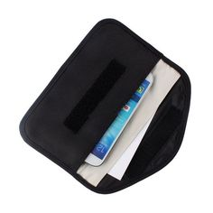 862ecb59e0649 Anti-signal RF Signal Blocker Shield Case Bag Black for Large-size  Cellphone GPS