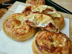 Uzavreté minipizze Dumplings, Bagel, Muffin, Pizza, Bread, Breakfast, Food, Basket, Bulgur