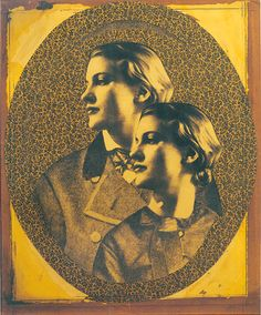 Lee Miller, Untitled (collage of Lee Miller) 1949, by Joseph Cornell