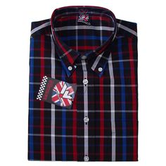 Vintage Button Down Shirt by Warrior Clothing- TORCH