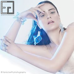 HAWAIIAN WAVES COLLECTION porcelain, polycarbonate, silver, steel bracelet, ring, earrings