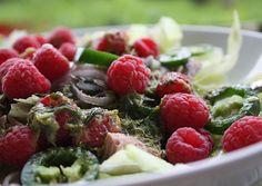 Fruit Salad, Cobb Salad, Paleo Plan, Healthy Recipes, Healthy Food, Super, Dressing, Carb Free Recipes, Paleo Breakfast