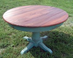 Here's my inspiration for my new $25 Craigslist table.  This table is over $1500!!!