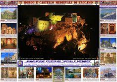 Castello di Caccamo - Borgo Medievale di Caccamo ( PA ), Sicilia