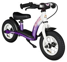 Special Offers - Bikestar 10 inch (25.4cm) Kids Balance Bike / Kids Running Bike  Classic  Lilac and White - In stock & Free Shipping. You can save more money! Check It (June 23 2016 at 05:18AM) >> http://cruiserbikeusa.net/bikestar-10-inch-25-4cm-kids-balance-bike-kids-running-bike-classic-lilac-and-white/