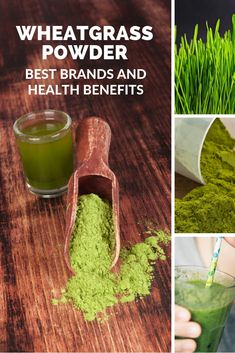 Wheatgrass powder has some interesting and unusual benefits. It is a convenient alternative to fresh wheatgrass. It is nutritionally dense and in powder form easier to use than fresh, and higher in fi Easy Smoothie Recipes, Easy Smoothies, Plant Based Eating, Plant Based Diet, Wheat Grass Shots, Growing Wheat Grass, Wheatgrass Powder, Smoothie Packs, Powder Recipe
