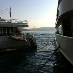 morning view to second bosphorus bridge from Bebek/Istanbul