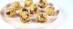 Oatmeal Energy Clusters (Use mini chips and extra PB & honey)