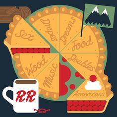 Twin Peaks pie chart