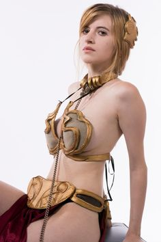 Slave Leia by AgosAshford.deviantart.com on @DeviantArt - More at https://pinterest.com/supergirlsart #starwars #star #wars #hot #sexy #cosplay #girl