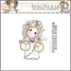 Magnolia Rubber Stamp - LD15 Lovely Ring Twice Tilda ***PRE-ORDER***