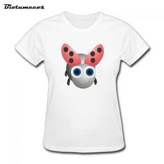 $11.58 Aliexpress.com : Buy New Summer Fashion Women's T shirt Short Sleeve O neck Cartoon Little Bee Casual Tees Shirt Girl Tops WDTKT001 from Reliable tee shirt suppliers on Biotumecos Store