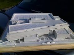 #3d #printed building. Start making your own 3d prototype now at: http://www.mylocal3dprinting.com. #3dPrintingArchitecture
