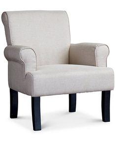 Kerena Wing Chair, Quick Ship | macys.com