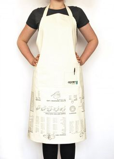 The Cooking Guide Apron :: the mental_floss store