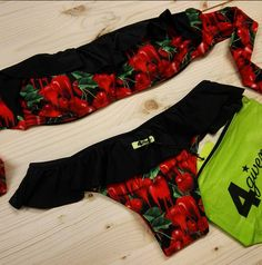 CHERRIES STYLE #4giveness #new #collection #4givenessstyle #perfectsummer #springsummer16 #beachwear #cherries #bikini