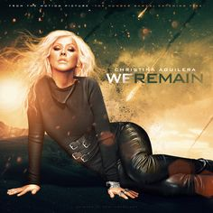 Christina Aguilera - We Remain #coverart made by Merlito