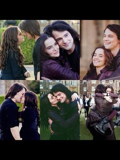 I love them. Both the characters and actors. I wish they were together in real life, but that is just fantasy-like hopeful dreaming. :(