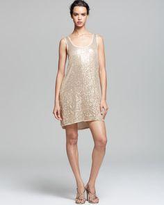 Diane von Furstenberg Tank Dress - Pellina Sequin