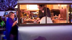 Oscar the Vintage Coffee Van - Melbourne wedding caravan, wedding catering, coffee van, food truck, wedding festival