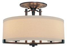 Ansmith Semi Flush Ceiling Light