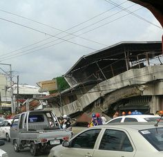 Building near Cebu Institute of Technology University in Cebu collapsed. Image by Maan Cajipe. Philippines Earthquake, Bohol, Tornados, Tsunami, Destruction, Mother Nature, Island