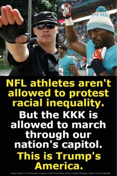 How clear can we make it that Trump doesn't give a 🖕 about the flag, the national anthem, or the veterans? Political Satire, Political Views, The Ugly Truth, Colin Kaepernick, Presidential Election, American History, Equality, Donald Trump, Nfl