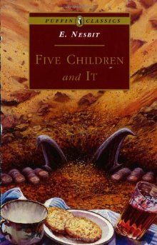 """Five Children and It ""     was first published in 1902, and it has remained in print ever since. The Introduction to this edition examines Nesbit's life and her reading, showing how she was poised between the Victorian world and a new era in which children in literature were no longer mere projections of the adult viewpoint."
