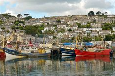 T056 Cornwall Newlyn Penzance Fishing Boat Trawler View Photo | eBay
