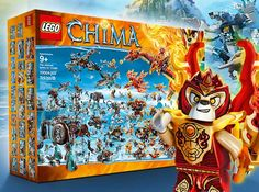win Chima Big Box (25 sets) build fortress to protect chi, send photo with contest entry by 10/31/2015